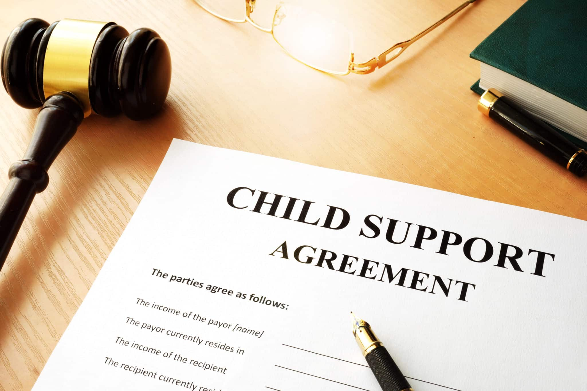 how to enforce child support in nj